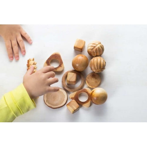 Wooden Tactile Set