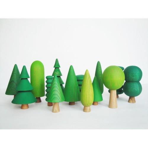 Woodland Tree Set (14 pcs)