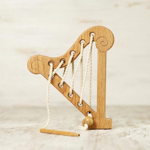 Harp Lacing Toy