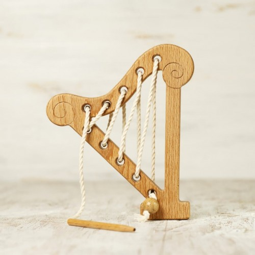 Harp Lacing Toy