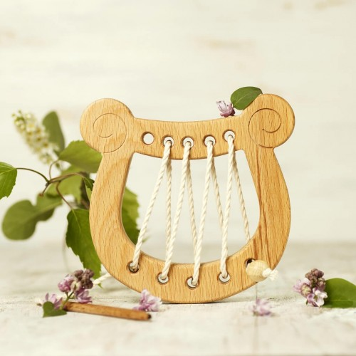 Lyre Lacing Toy