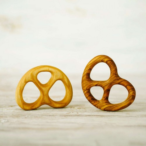 Pretzel Teething Ring