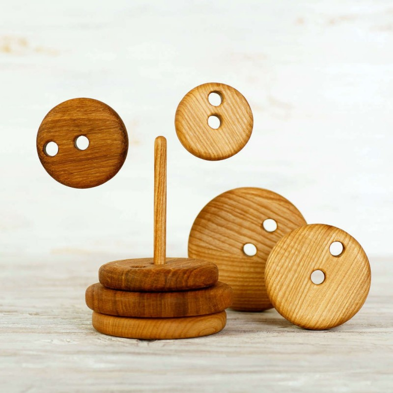 Wooden Stacking Toy Round