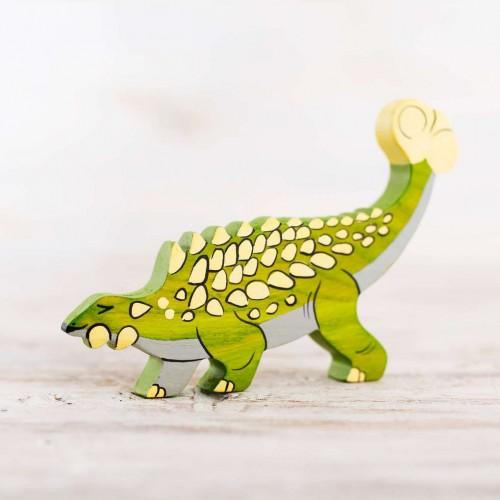 Toy Ankylosaurus figure