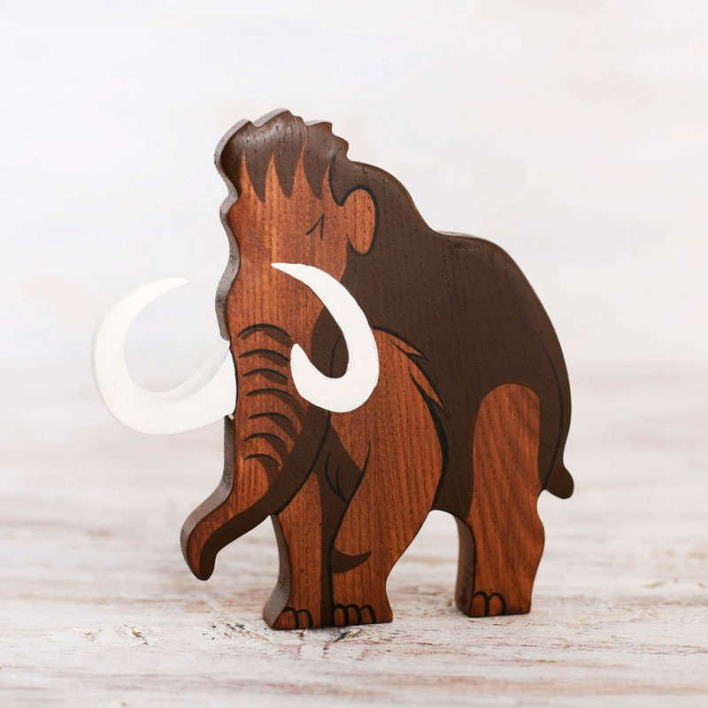 Buy Wooden Mammoth toy Online at Wooden Caterpillar Toys c088a673f