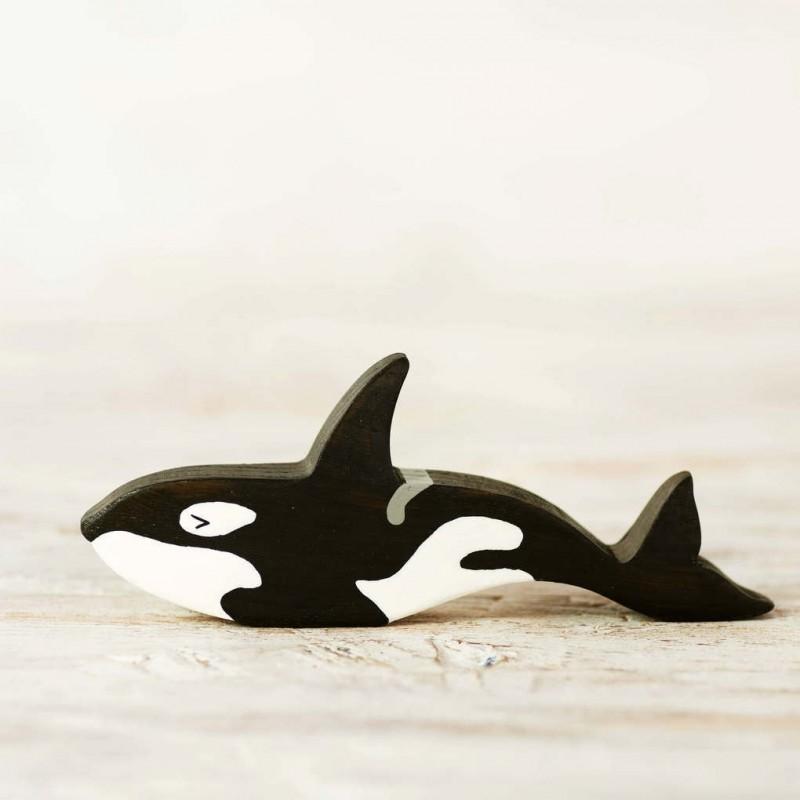Toy Orca figurine