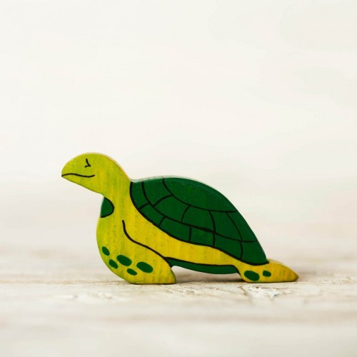 Wooden Sea Turtle Toy
