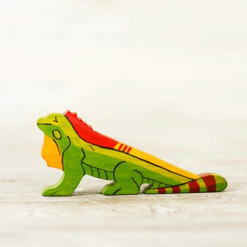 Wooden Iguana Toy