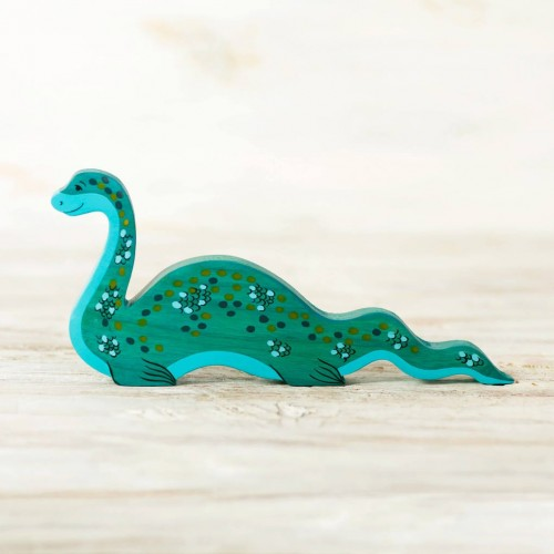 Wooden Nessie Toy