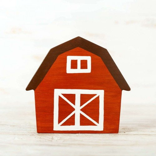 Wooden Barn Toy
