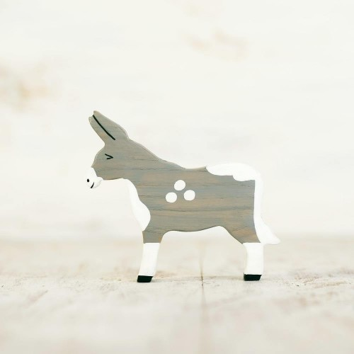Wooden Donkey Toy