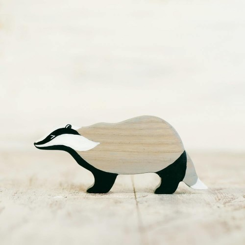 Wooden Badger Toy