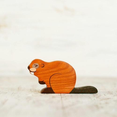 Wooden Beaver Toy