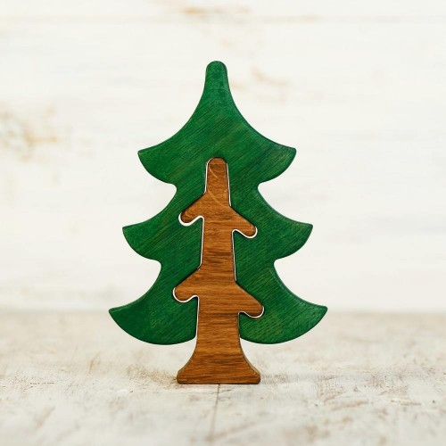 Fir tree figurine