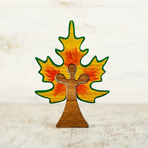 Wooden Maple Tree