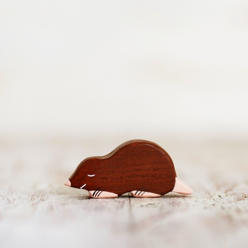 Wooden Mole Toy