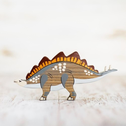 Wooden Stegosaurus Toy