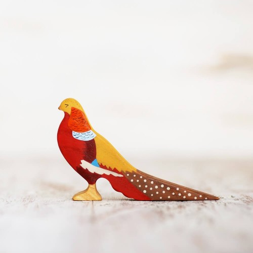 Wooden Pheasant Toy
