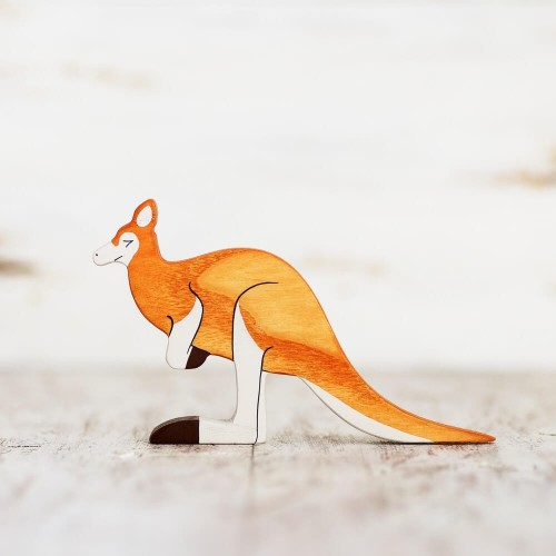 Wooden Kangaroo toy