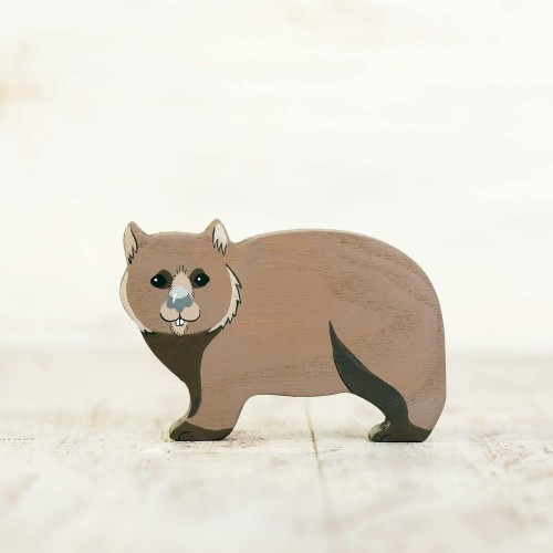 Wooden Wombat Toy