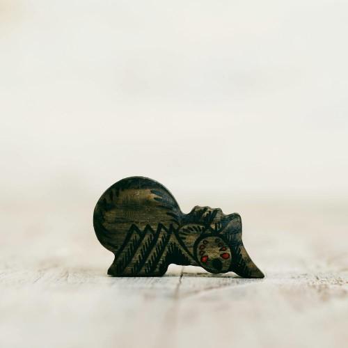 Wooden toy Spider figurine
