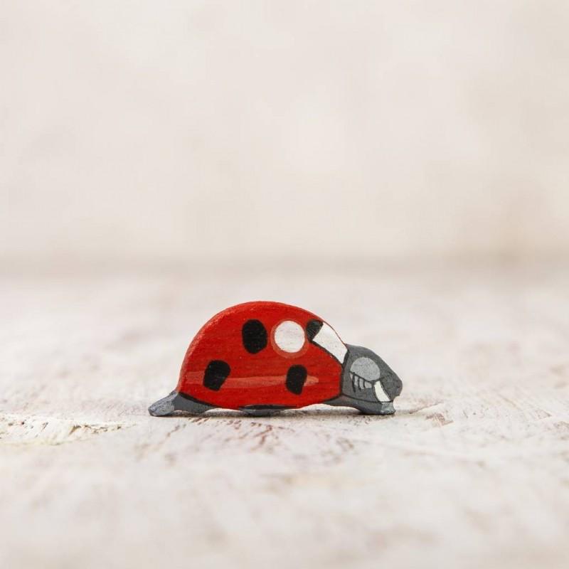 Toy ladybug figurine