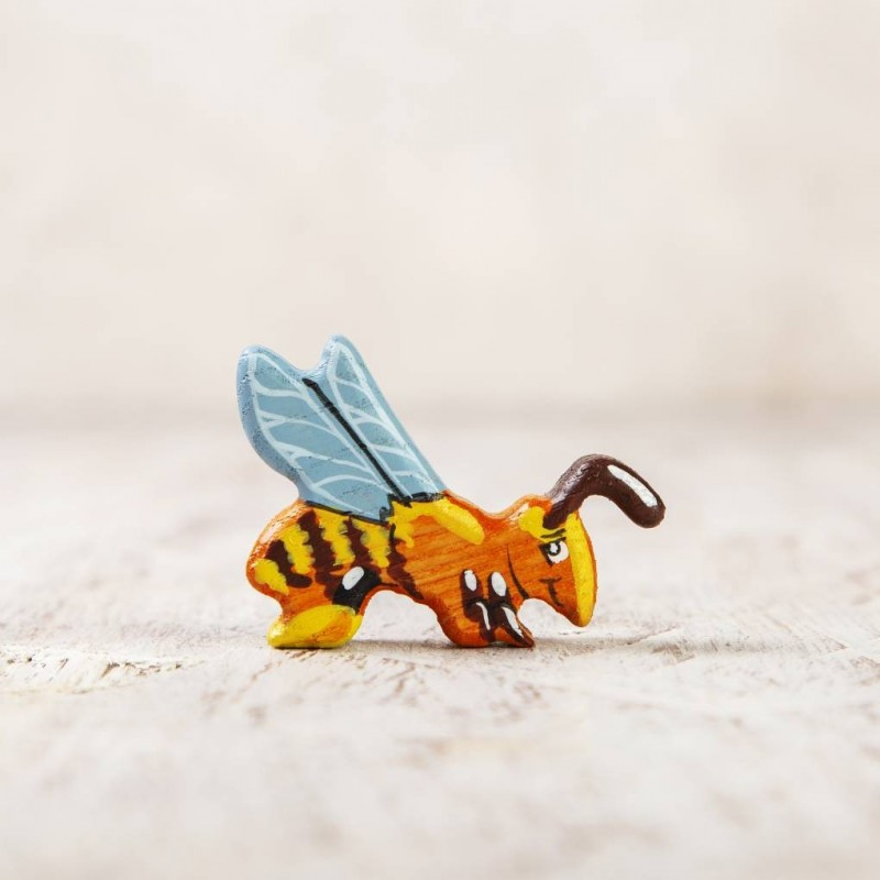 Toy bee figurine
