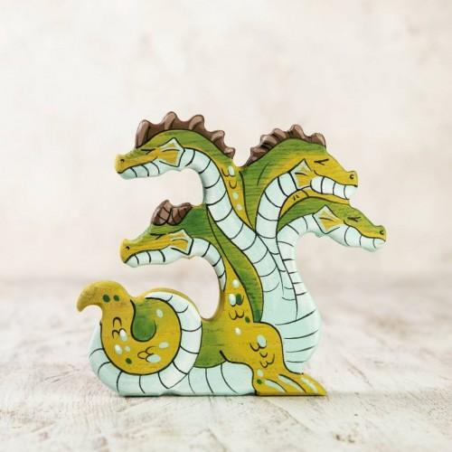Wooden Hydra Figurine