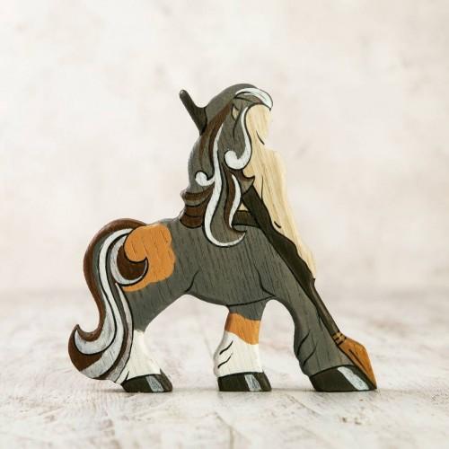 Wooden Centaur figurine