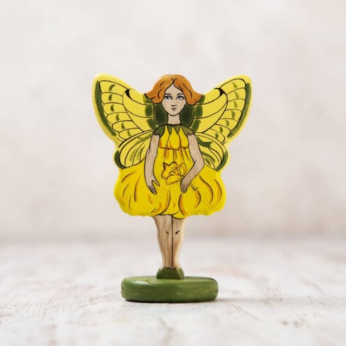 Wooden Fairy Figurine