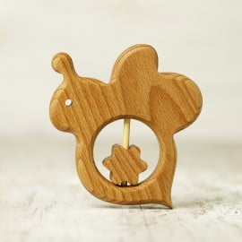 Rattle teethers Animal shapes